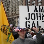 A Tea Party Protester